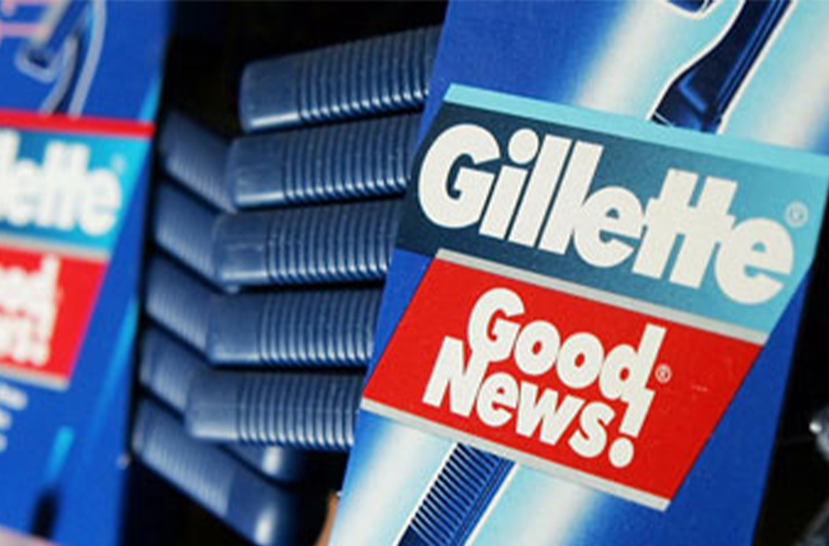 داستان لوگو Gillette