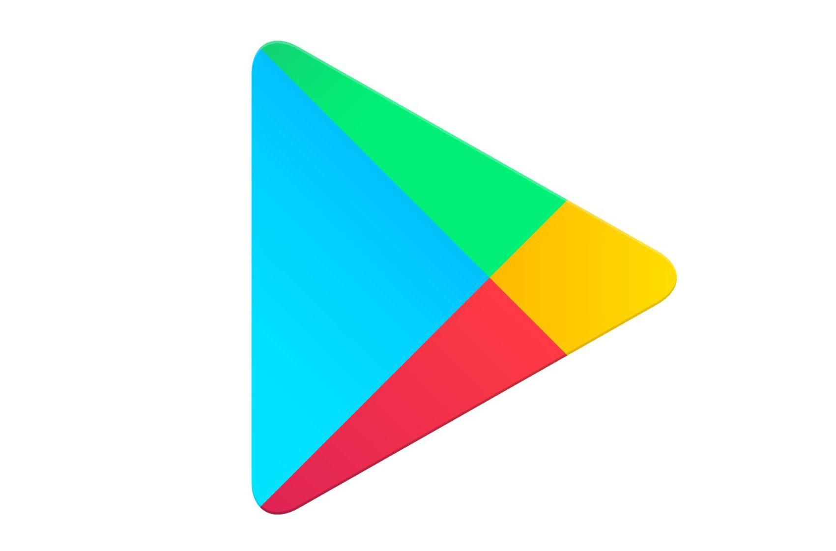 داستان لوگوی Google play