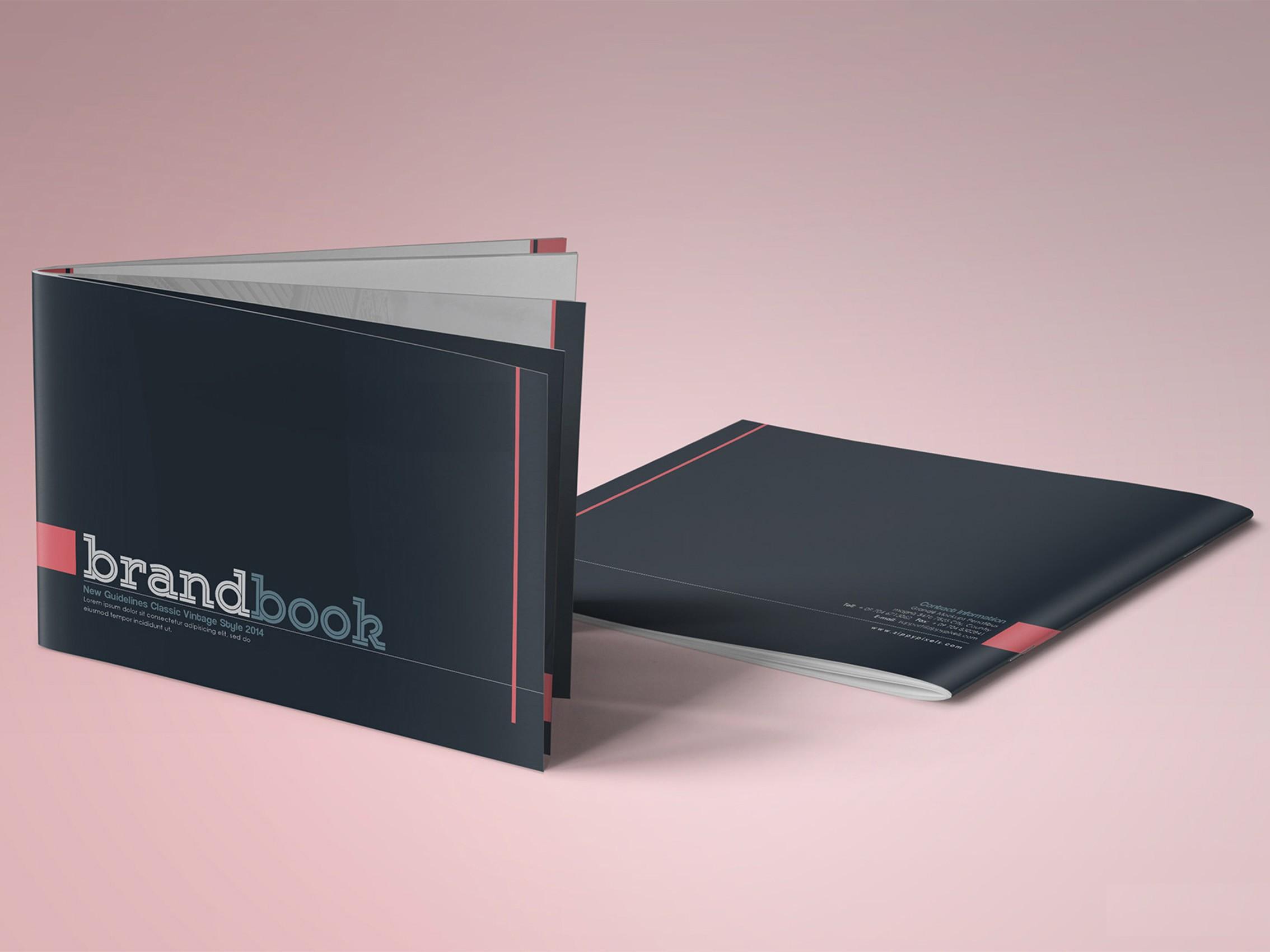 طراحی برند بوک