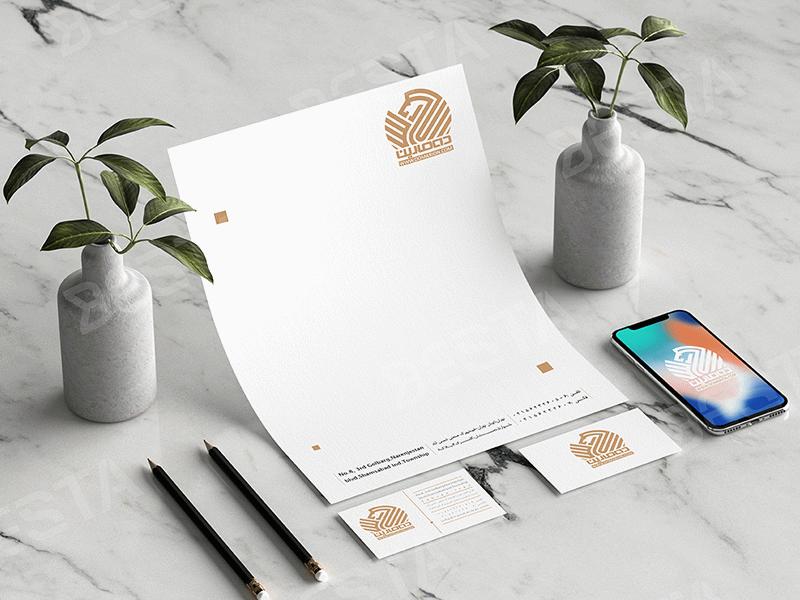 طراحی لوگو و ستاداری